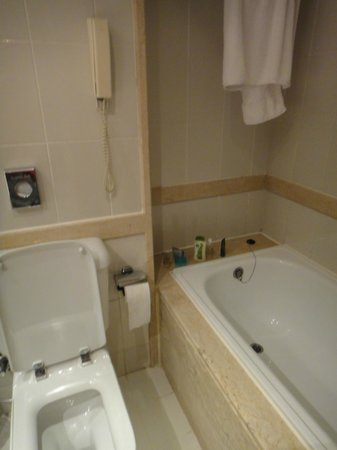 Hilton Hurghada Plaza: Standard Bathroom