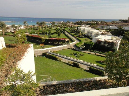 Hilton Hurghada Plaza: Hotel garden