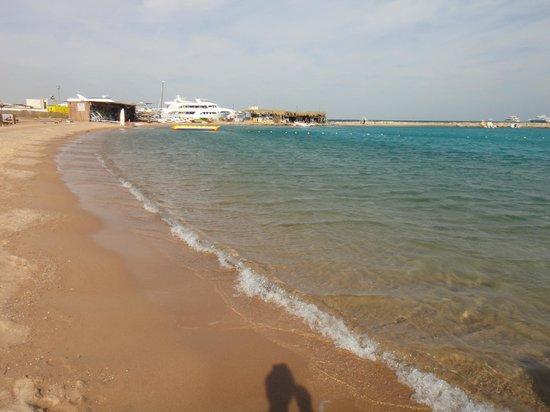 Hilton Hurghada Plaza: Hotel Beach