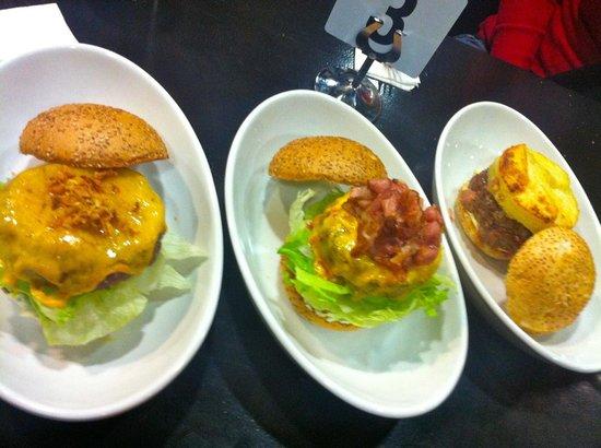 Pijama Restaurant: Selection of burgers....10