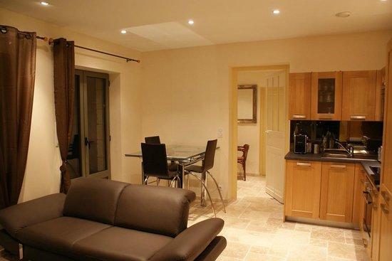 L'Incontournable - Villa de Luxe a Sarlat : Salon de l'appartement