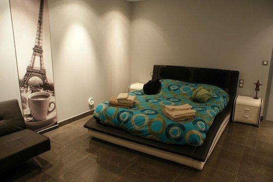 L'Incontournable - Villa de Luxe a Sarlat : Chambre de l'appartement