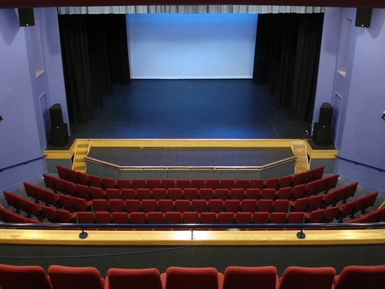 Lighthouse Theatre: veiw of the stage from the balcony seating