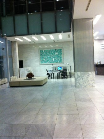 Gumi Century Hotel: フロント