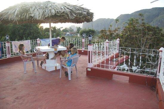 Casa Particular Ridel y Claribel: The roof terrace