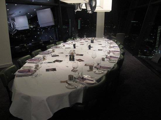 Marco Pierre White Steakhouse Bar Grill Private Dining Room All Set Up