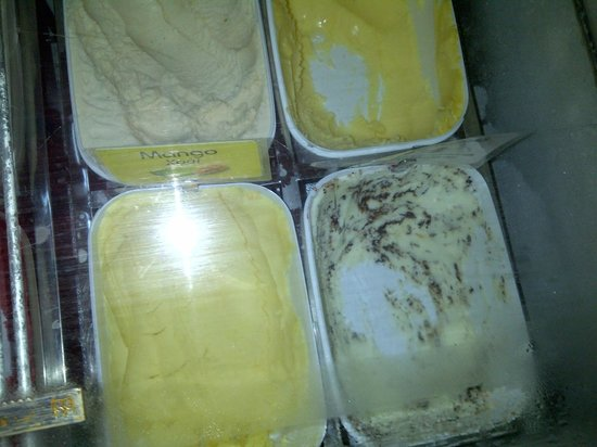 Toastina: Lovely selection of ice cream ...