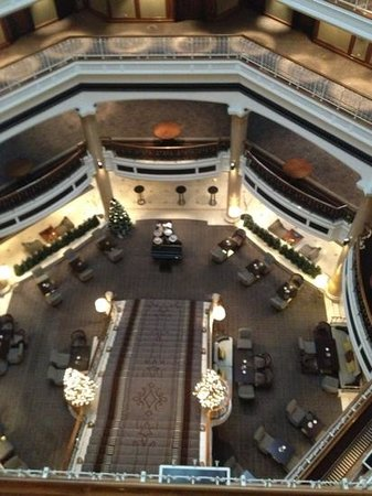 The Westin Grand Berlin: The stairs