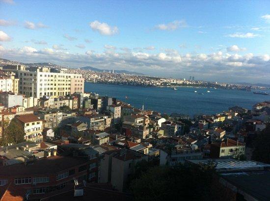 Istanbulinn Boutique Hotel: Вид с балкона 