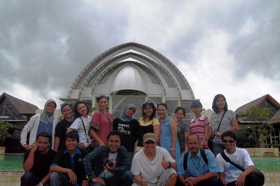Pulau Umang Resort & Spa: berfoto jelang pulang