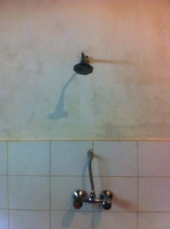 Sri Ratih Cottages: shower