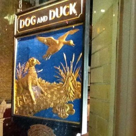 The Dog & Duck Pub in London