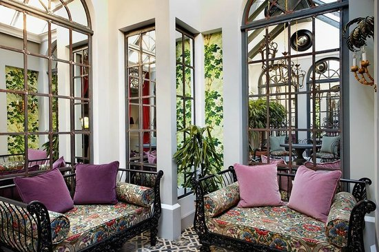 Saint James Paris - Relais et Chateaux: Top floor suite - winter garden