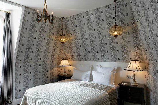 Saint James Paris - Relais et Chateaux: Pavillon d'Amour - bedroom