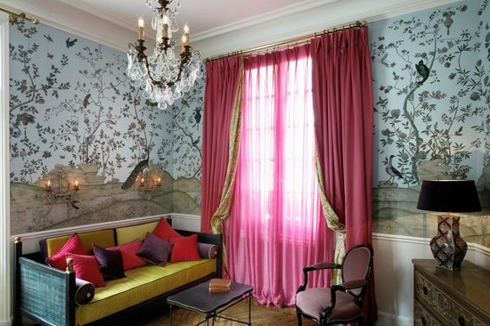 Saint James Paris - Relais et Chateaux: Pavillon d'Amour - lounge