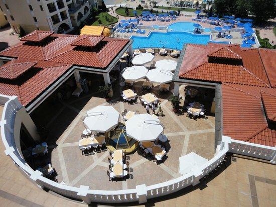 Duni Marina Royal Palace: Dining area