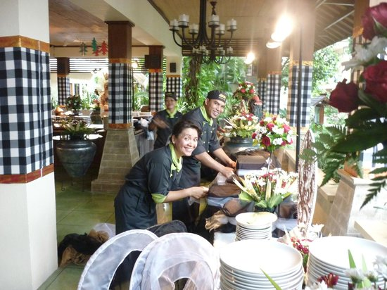 Risata Bali Resort & Spa: oh so friendly staff