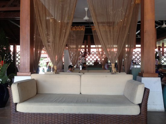 Club Med Cherating Beach: absolutely comfy to relax on