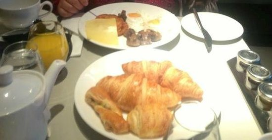 Pullman London St Pancras Hotel: Breakfast