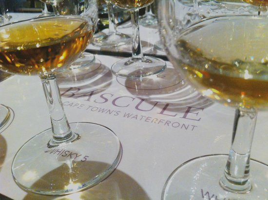 Cape Grace: Whiskey Tasting