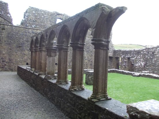 Fore Abbey: Remains of the cloisters