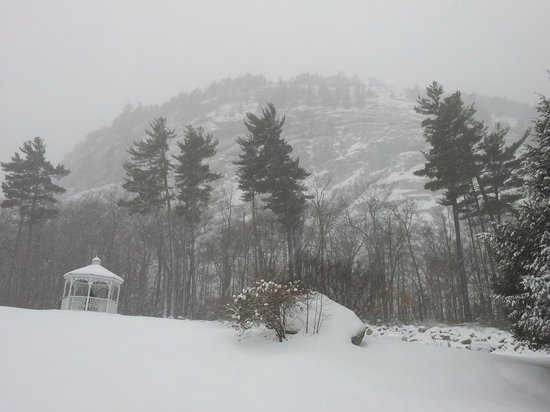 White Mountain Hotel and Resort: White Mountain Hotel grounds