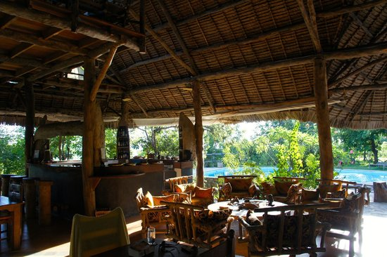 Shamba Kilole Eco Lodge: Lounge Area