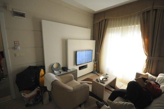 Taksim Premium Residence: LIVING ROOM