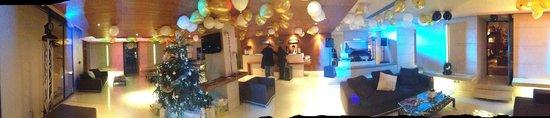 Hotel Beau Rivage: Réception