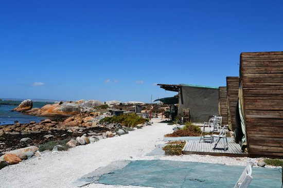 Paternoster, South Africa: BEach Camp