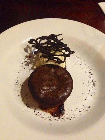 Old Bridge Inn: Chocolate fondant