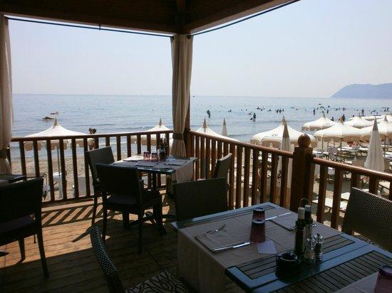 Ristorante Spiaggia Foto Di Grand Hotel Alassio Resort