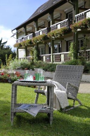 Hostellerie La Cheneaudiere - Relais & Chateaux: Jardin aromatique