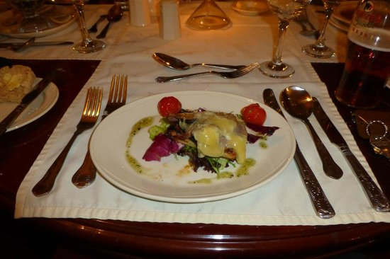Stonecross Manor Hotel: Starter Meal