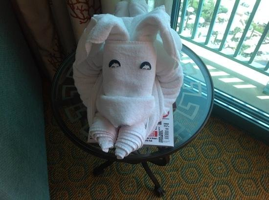 Atlantis, The Palm: towel:P