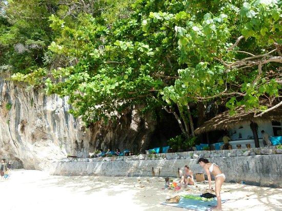 Rayavadee Resort: Plage de Phranang