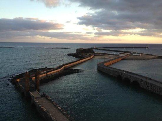 Hotel Miramar: Arrecife fortress
