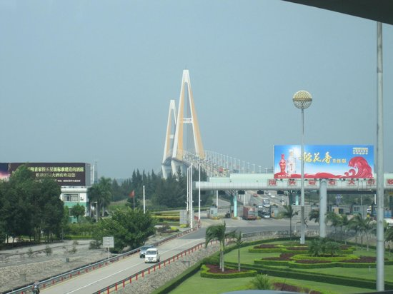 Queshi Bridge-View from queshi park side