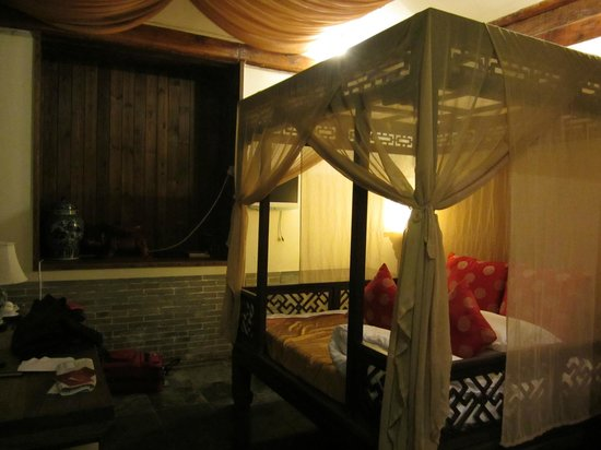 Courtyard 7: Our room with King bed.