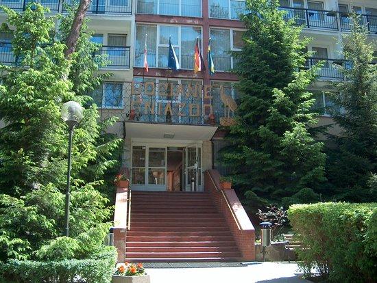 Pogorzelica, Polen: Eingangsbereich Hotel