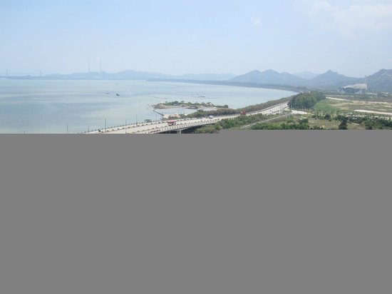 Queshi Scenic Resort: Queshi Rock formations-view from top of pagoda 1