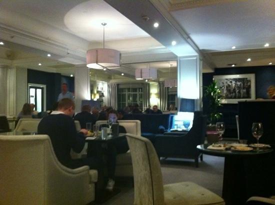 The Waldorf Hilton London: really comfortable executive lounge