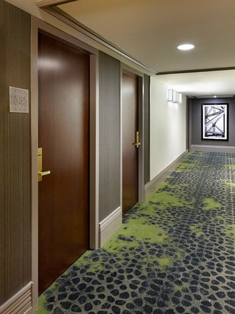 InterContinental Chicago: Grand Tower Corridor