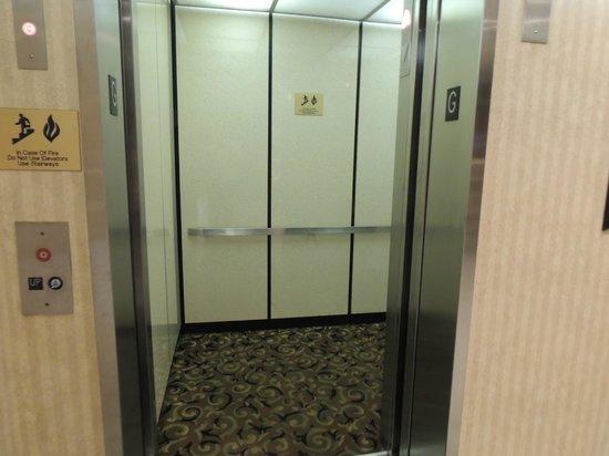 Quality Inn : Elevator