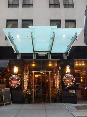 Hotel Mela: Fachada del hotel