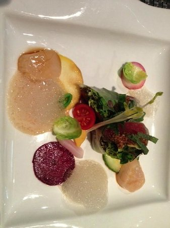 shrimps - picture of le concert de cuisine, paris - tripadvisor