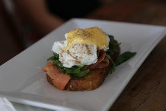 Emu Point Cafe: Breakfast view