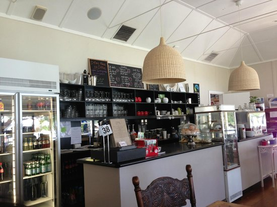 Inside of Emu Point Cafe