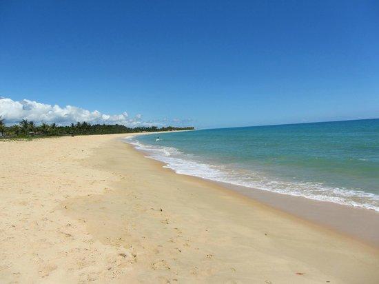 Villas de Trancoso Beach Bar & Restaurant : Praia em frente ao Villas (Praia dos Nativos)