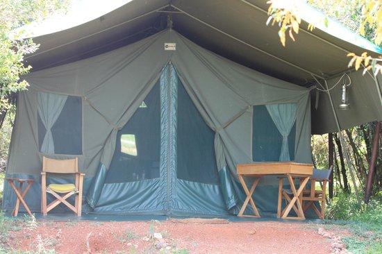 Entim Camp: Tent #4N
